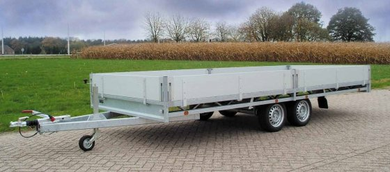 Hulco Medax plateauwagen